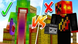WHO IS THE BETTER MINECRAFT PLAYER...