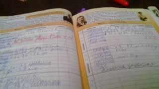 Мой  школьный  дневник