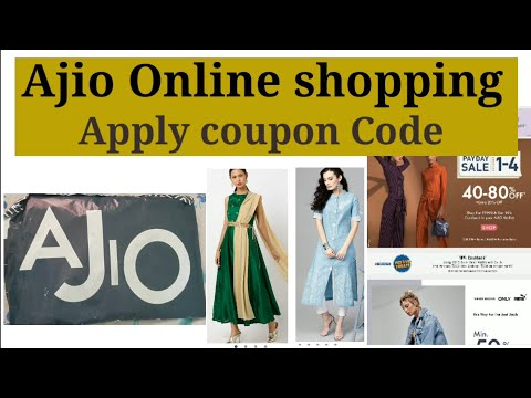 Ajio Online Shopping How To Apply Coupon