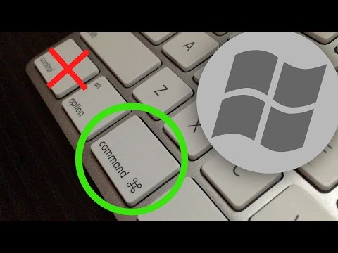 Registry Hack To Get Windows 7 To Use ⌘(command) On A Mac Keyboard