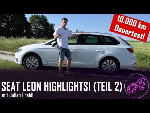 SEAT Leon ST Test Teil 2 (2019) │deutsch│ Review │ Dauertest │ Die 10 größten Highlights │ TGI