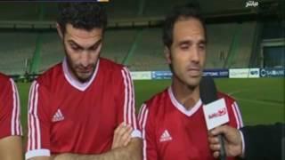 كورة كل يوم |  لقاءات مع لاعبي حرس الحدود بعد الفوز على المقاولون العرب فى كأس مصر