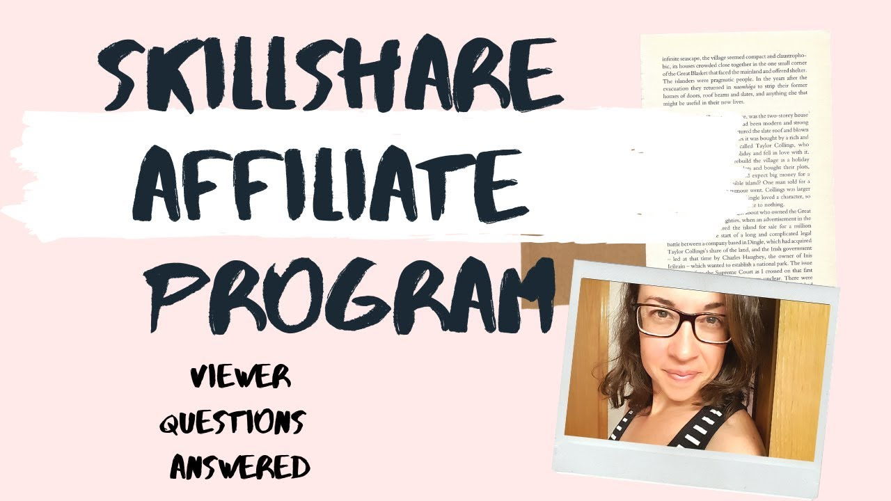 Skillshare Affiliate Program review (Your Questions Answered)