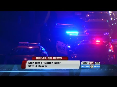 Standoff situation in Omaha