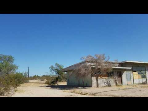Dunes abandoned Hotel right off of Route 66 California July 2016