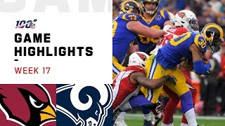 Cardinals vs. Rams Week 17 Highlights