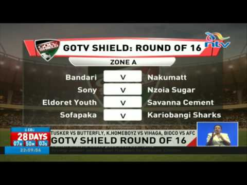 GoTV shield round of 16 fixtures announced