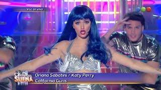 Oriana Sabatini es Katy Perry - Tu Cara Me Suena 2014