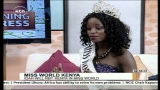Friday Chat with Miss World Kenya Idah Nguma