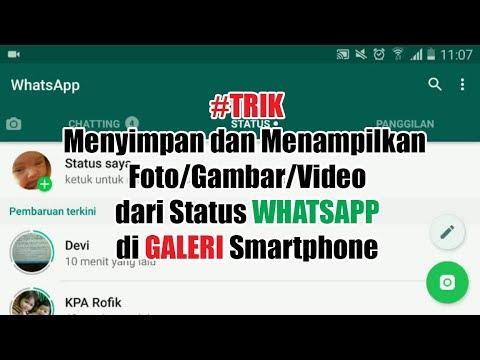 Trikwhatsapp Menyimpan Video Status Whatsapp Ke Galeri Smartphone Tanpa Aplikasi Tambahan Youtube