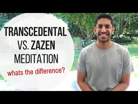 Transcendental Meditation vs Zazen Zen Meditation | What is the Difference?