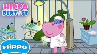 Hippo   Diş Hekimi Doktoru - Yeni Maceralar!   Çizgi film oyunu