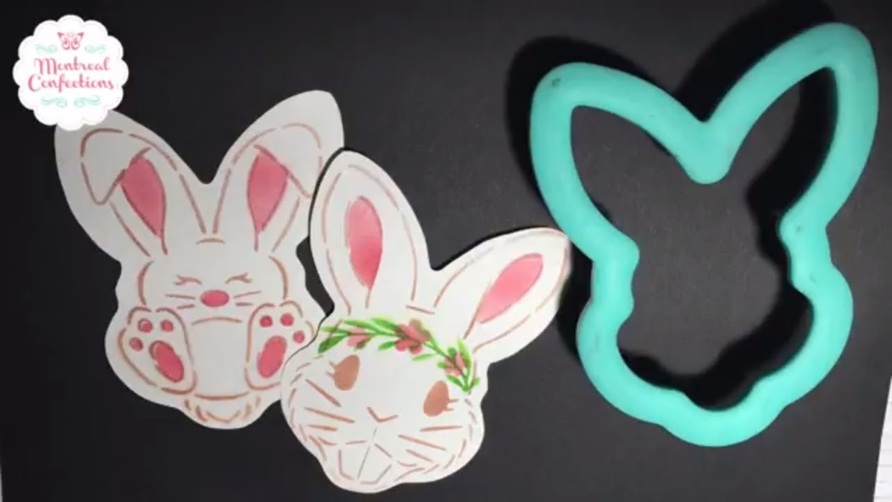 Designing cookies & making Cookie Stencils Silhouette Cameo 3 - Cute ...