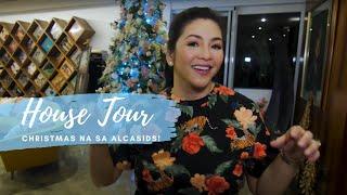 Christmas Na Sa Alcasids! House Tour with Regine Velasquez