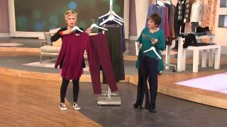LOGO by Lori Goldstein Petite Knit Pants with Side Seam Panels with Jane Treacy