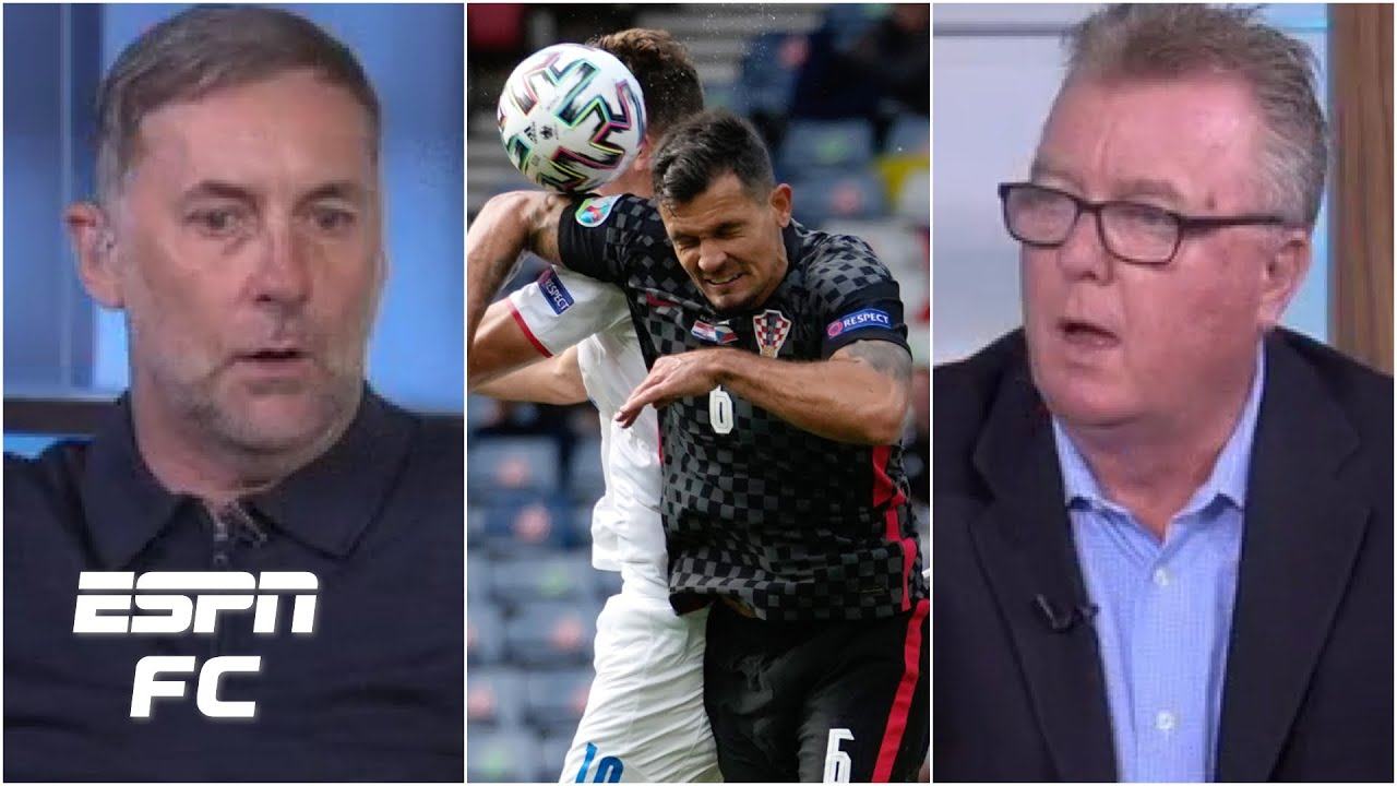 Penalty or no? ESPN FC panel gets heated over Croatia vs. Czech Republic controversy   Euro 2020