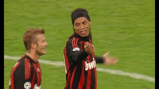 When Ronaldinho Outshined D. Beckham