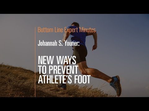New Ways to Prevent Athlete's Foot