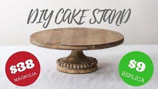 MAGNOLIA MARKET REPLICA | FARMHOUSE CAKE STAND
