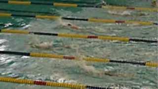 梁睿彬 ~游泳比賽50公尺蝶式(2012.04.01高雄全國春季)