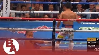 Highlights from Pacquiao vs. Thurman