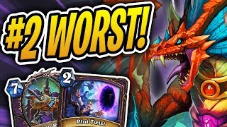 CONTINUING /W THE WORST WINRATE DECKS! #2 | Hakkar, Rafaam Warlock | Rise of Shadows | Hearthstone