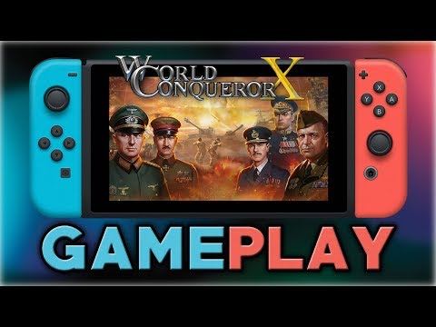 World Conqueror X | First 30 Minutes | Nintendo Switch