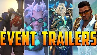 Overwatch: Event Trailers 2016 - 2020 | Oldest To Newest HD