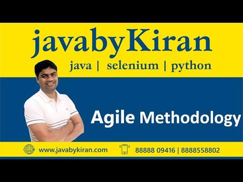 Agile Methodology - For  Selenium & Java-By Kiran Sir-JAVA By Kiran,Pune