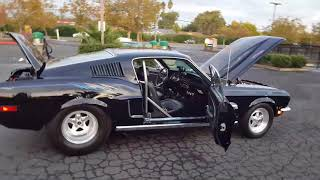 1968 Pro Street Fastback Mustang with a 427 SVO Premium Edition small block 650 + horsepower