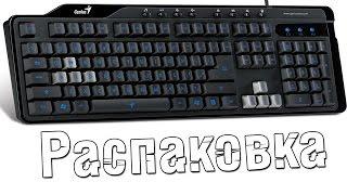 Распаковка клавиатуры Genius KB-G255