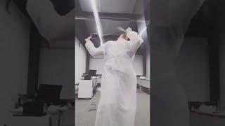 Тik Tok и коронавирус Врач записывает видео из Красной зоны