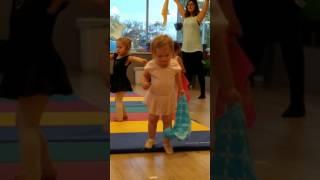 Nola is taking a dance class