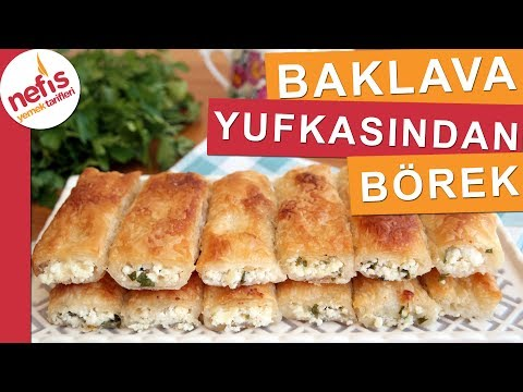 Baklavalık Yufkadan Peynirli Börek Tarifi - Çıtır Çıtır Bir Börek