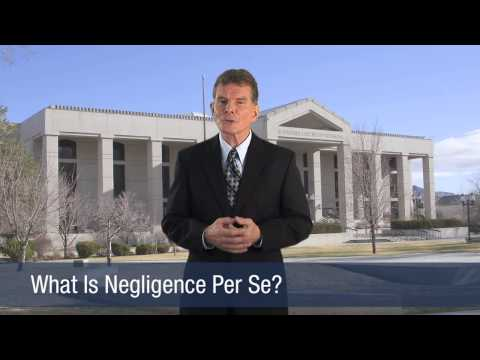 What Is Negligence Per Se