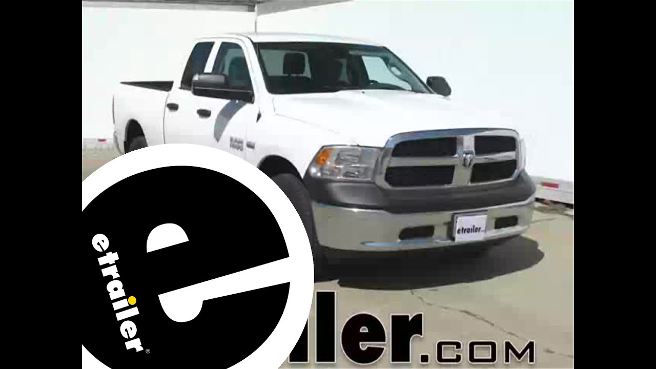 Installation Of The Pilot Bully Nerf Bars On A 2014 Ram