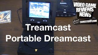 Rare Portable Dreamcast - Treamcast System Review - Gamester81