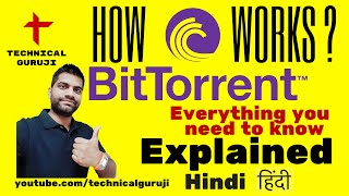 [Hindi/Urdu] How Torrents work? BitTorrent Explained in Detail