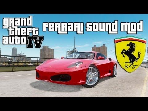GTA IV - Ferrari Sound Mod (DOWNLOAD LINK)