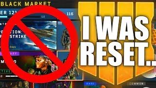 I WAS RESET ON BLACK OPS 4! Here
