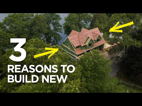 3 reason to build new instead of renovating | Coffee Break Q&A #19