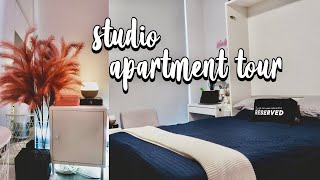 Download SYDNEY STUDIO APARTMENT TOUR 2021 ($350/wk) | zee ♡