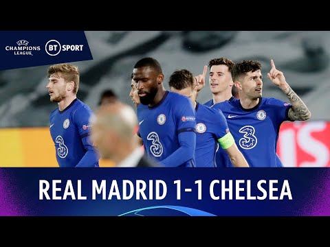 Real Madrid v Chelsea (1-1) | Pulisic And Benzema On Scoresheet | Champions League Highlights
