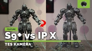 Adu Kamera Galaxy S9+ vs iPhone X