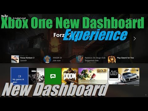 DKRecords - Xbox One New Dashboard Experience (First Impressions)