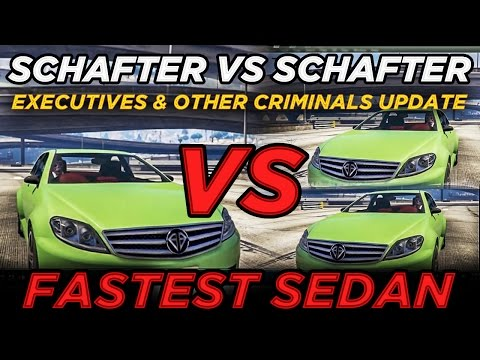 Schafter V12 vs Schafter LWB vs Schafter (GTAV Executives & Other Criminals Update)