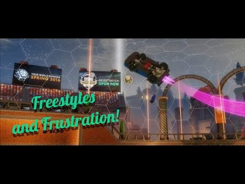 Rocket League|Freestyles & Frustration