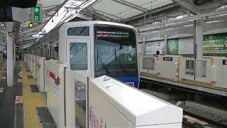 西武6000系6111F特急武蔵小杉行き 東横線自由が丘駅発車