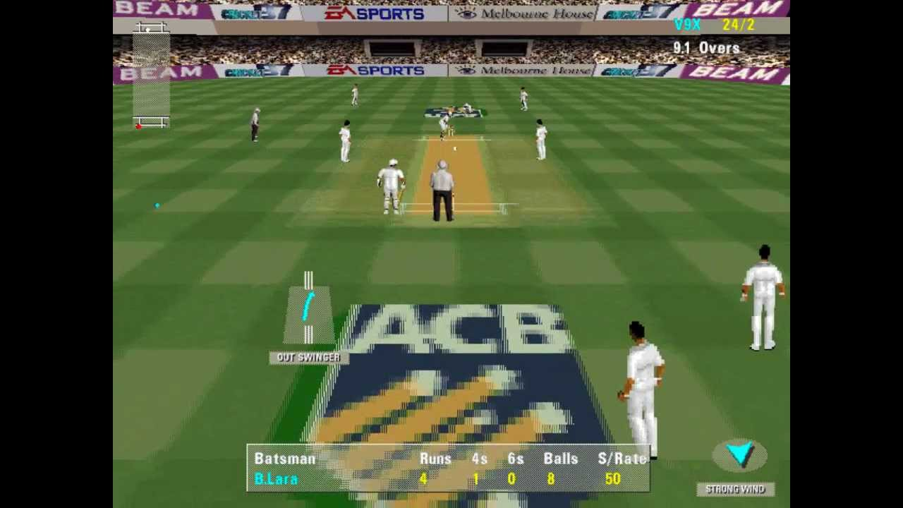 How to play cricket 97 ashes tour edition (or any old games) in.