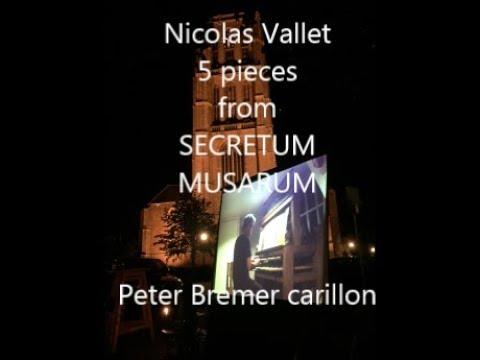 Nicolas vallet 5 pieces from Secretum Musarum